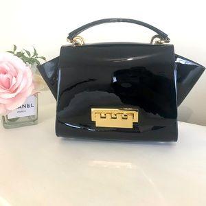 SALE 🔥⚜️ZAC POSEN Patent Leather Handbag